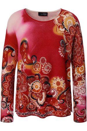 Looxent Pullover überschnittener Schulter pink