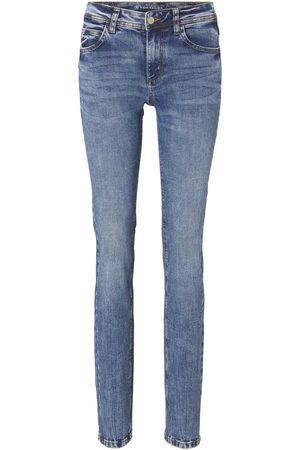 TOM TAILOR Damen Straight - Damen Alexa Straight Jeans, , Gr.28/32