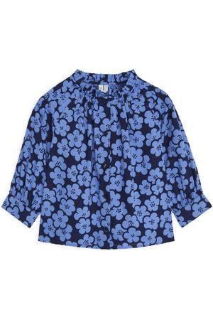 ARKET Floral Blouse