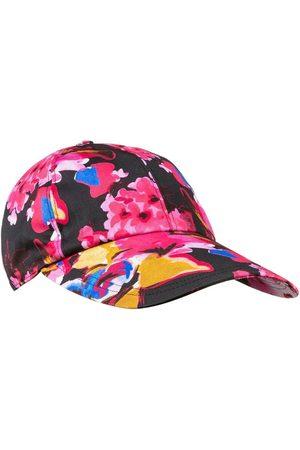 Msgm Damen Hüte - Cap mit buntem Print , Damen, Größe: One size