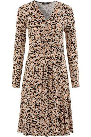 Aniston Jerseykleid mit Schmuckelement am Wickel-Ausschnitt - NEUE KOLLEKTION