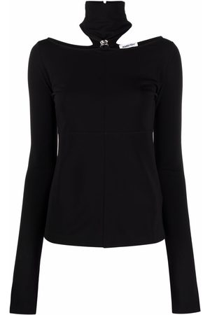 AMBUSH Damen T-Shirts, Polos & Longsleeves - FITTED JEWELRY TOP BLACK NO COLOR