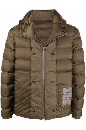Ten Cate Herren Winterjacken - Logo-patch puffer jacket