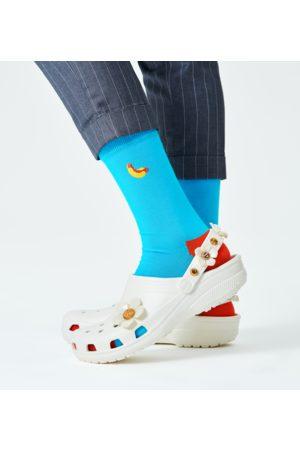 Happy Socks Embroidery Hot Dog Sock