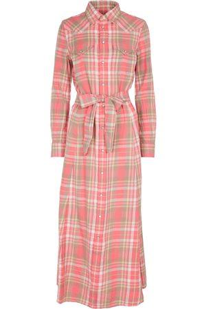 Polo Ralph Lauren Kariertes Hemdblusenkleid