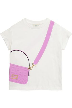 Fendi T-Shirt aus Baumwoll-Jersey