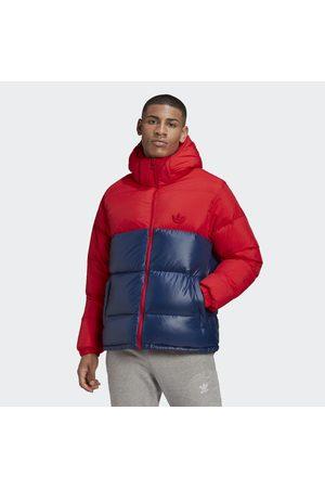 adidas Down Regen Hooded Blocked Puffer Jacke