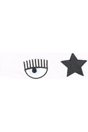 Chiara Ferragni Kids Stirnband mit Stickerei