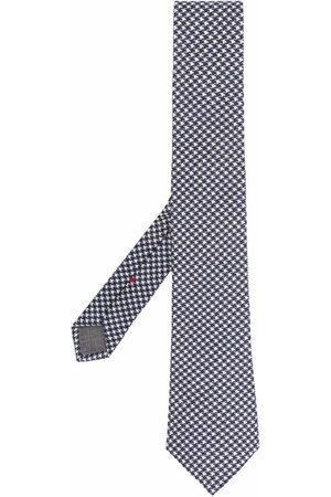 Brunello Cucinelli Krawatte mit Hahnentrittmuster