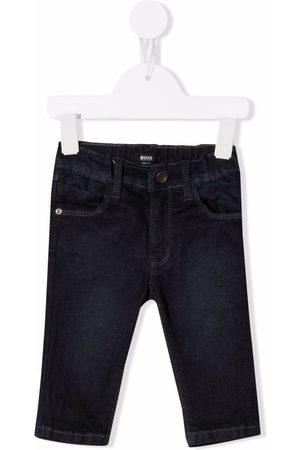 HUGO BOSS Skinny-Jeans mit dunkler Waschung