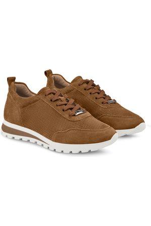 LaShoe Damen Sneakers - Sneaker Leder Classic Cognac 36