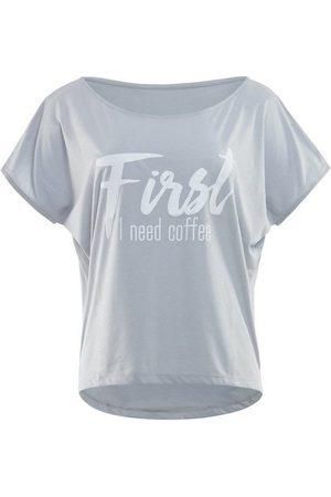 Winshape Oversize-Shirt »MCT002 ultra leicht« mit weißem Glitzer-Aufdruck
