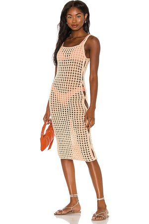 lovewave The Coralee Midi Dress in . Size XS, S, M.