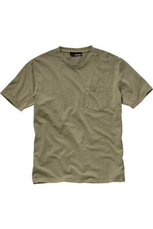 Mey & Edlich Herren T-Shirts, Polos & Longsleeves - Herren Hofbegrünung-Shirt gruen