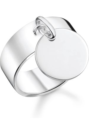 Thomas Sabo Ring mit Coin silber mit Gravur