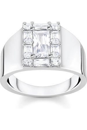 Thomas Sabo Ring weißer Stein silber weiß