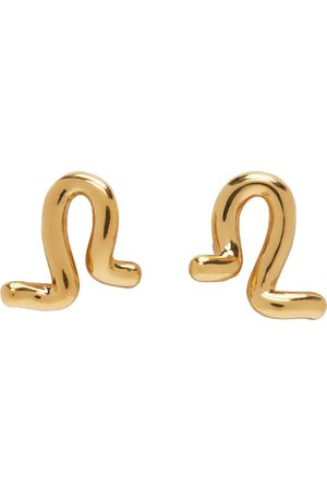 Agmes Small Twist Stud Earrings