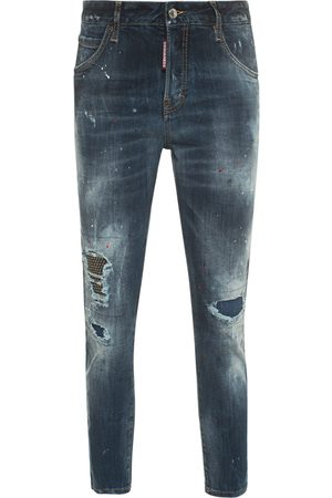 Dsquared2 Cool Girl Cropped Jeans Blue