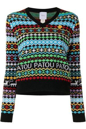 Patou Gemusterter Pullover