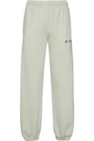 OFF-WHITE Damen Jogginghosen - Jersey-jogginghose Mit Logo