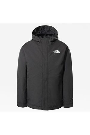 The North Face Kinder Snow Quest Zip-in Jacke Asphalt Grey Heather Größe L Damen