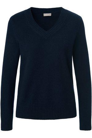 include Damen Pullover - V-Pullover aus 100% Premium-Kaschmir