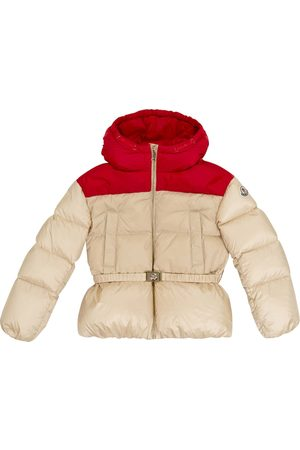 Moncler Mädchen Winterjacken - Daunenjacke mit Gürtel