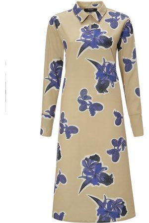 Aniston CASUAL Blusenkleid mit großflächigem Blumendruck - NEUE KOLLEKTION