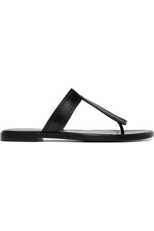 Tom Ford Damen Strings - Black Thong Sandals
