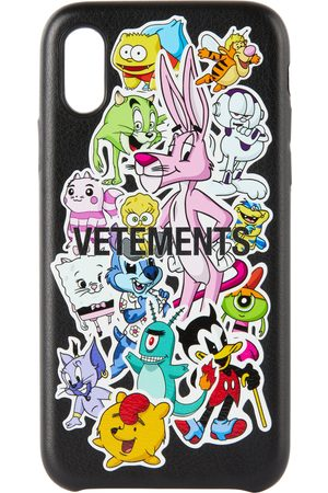 Vetements Black Monsters Stickers iPhone XS Max Case