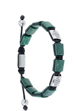 Nialaya Herren Armbänder - Dorje Flatbead' Armband