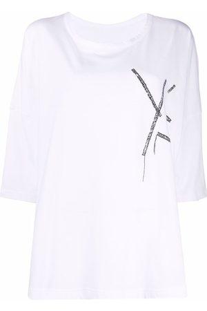 Y'S Damen T-Shirts, Polos & Longsleeves - T-Shirt mit Logo-Print