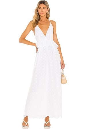 Tularosa Brier Embroidered Dress in . Size M, S, XL, XS, XXS.
