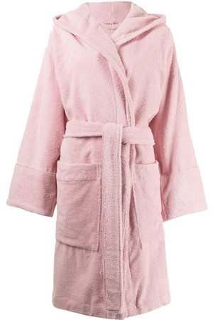 Tekla Damen Schlafanzüge - Morgenmantel mit Kapuze