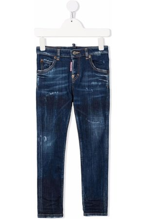 Dsquared2 Gerade Jeans im Distressed-Look