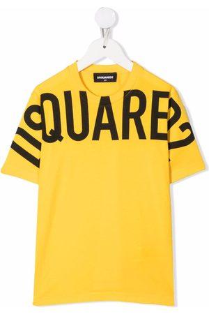 Dsquared2 Kids Mädchen T-Shirts, Polos & Longsleeves - T-Shirt mit Logo-Print