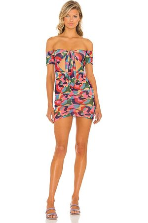 lovewave The Xena Mini Dress in . Size M, S, XL, XS, XXS.