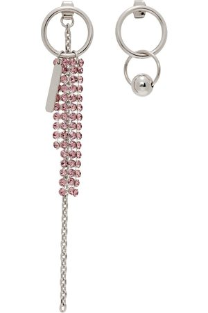 Justine Clenquet SSENSE Exclusive Pink Jess Earrings