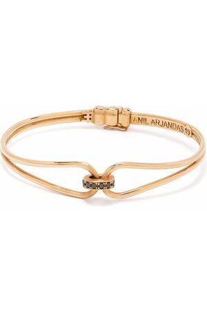 Anil Arjandas Herren Armbänder - 18kt Wristgame Rotgoldarmspange mit Diamanten
