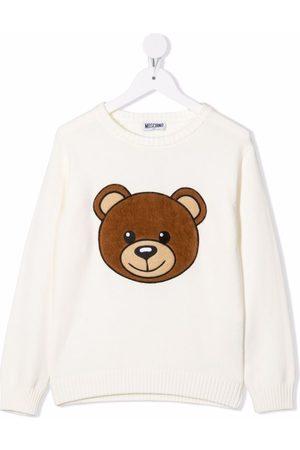 Moschino Kids Pullover mit Teddys
