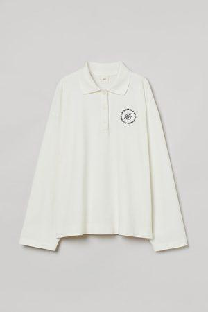 H&M Poloshirt mit Langarm