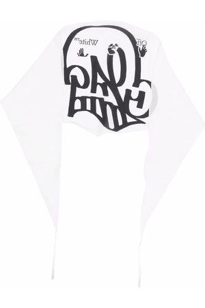 OFF-WHITE Herren Schals - Schal mit Graffiti-Print