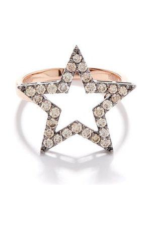 Rosa De La Cruz Star Diamond & 18kt Rose- Ring