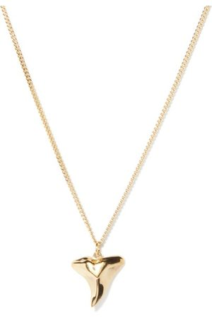Miansai Shark Tooth 14kt -vermeil Necklace