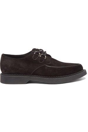 Saint Laurent Anthony Suede Derby Shoes