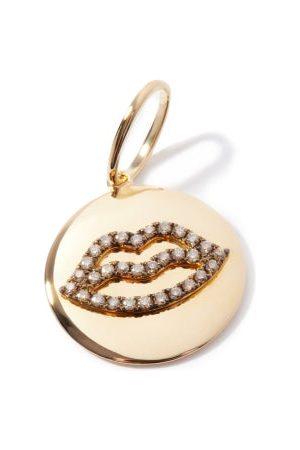 Rosa De La Cruz Lips Diamond & 18kt Charm