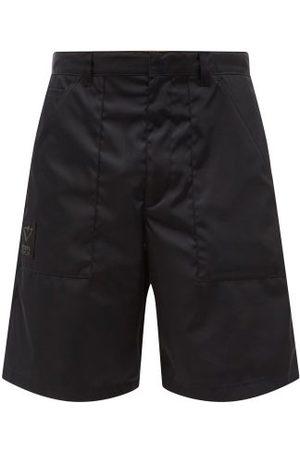 Prada Triangle Logo-plaque Re-nylon Cargo Shorts