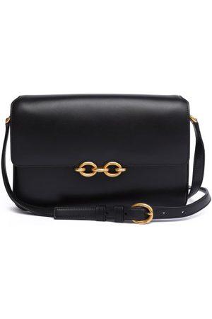 Saint Laurent Maillon Medium Leather Shoulder Bag