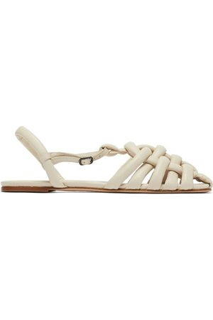 Hereu Cabersa Woven Padded-leather Sandals