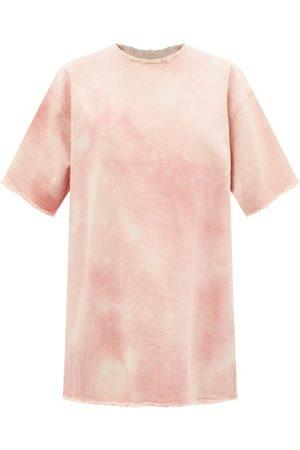 MARQUES'ALMEIDA Tie-dyed Denim T-shirt Dress